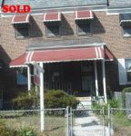 SOLD! Listing #3 - Baltimore, Maryland